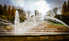 Alnwick Gardens . (wayman2011) Tags: colinhart fujifilm23mmf2 fujifilmxt1 lightroom5 wayman2011 gardens water fountains northumberland alnwick uk