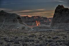 first light (remiklitsch) Tags: amangiri utah canyons morning november nikon remiklitsch sunrise firstlight badlands bigsky