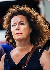 Portrait (D80_546517) (Itzick) Tags: manhattansep2019 nyc candid color colorportrait woman face facialexpression streetphotography brunette portrait d800 itzick