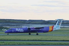 Flybe Dash8 Q400 G-ECOH at Isle of Man EGNS 08/11/19 (IOM Aviation Photography) Tags: flybe dash8 q400 gecoh isle man egns 081119