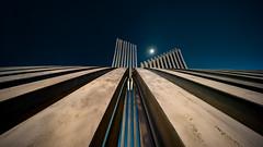 Sunstar Moonshot (Cadicxv8) Tags: moon sunstar architects architecture night nightphotography arch saigon
