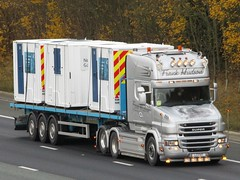Frank Hudson, Scania Super T730 (L2FHT) On The A1M Northbound (Gary Chatterton 7 million Views) Tags: frankhudsontransport scaniatrucks scaniat730 l2fht trucking wagon lorry haulage distribution logistics flickr canonpowershotsx430 photography motorway
