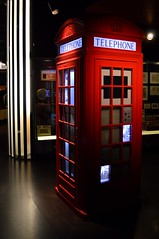 Talking Box (dhcomet) Tags: london red museum phone box telephone londonwall