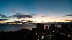 Waikiki Sunset (George_Allred_photography) Tags: waikiki hawaii oahu paradise sunset nikon d750 night cityscape travel aloha
