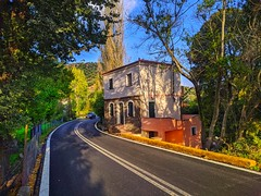 beautiful house on the road (panoskaralis) Tags: houses road roadtrip trees outdoor landscape lesvos lesvosisland mytilene greece greek hellas hellenic xiaomiredminote7 xiaomi green nature greekisland greeknature