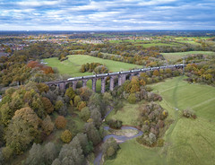 Congleton Viaduct (robmcrorie) Tags: cheshire viaduct phantom congestion pendolino autumn colours 4 railway congleton north staffordshire