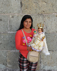 Oaxaca Candelaria Fiesta Mexico (Ilhuicamina) Tags: mujer woman fiestas mexican oaxacan candelaria jesus religion