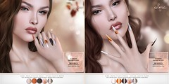 "Alme for Sad November - ""Mesh Stiletto nails//Spiced Choco"" ♥ (ChloeElectra) Tags:"
