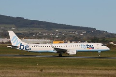 Flybe Embraer 195 G-FBEK at Isle of Man EGNS 08/11/19 (IOM Aviation Photography) Tags: flybe embraer 195 gfbek isle man egns 081119