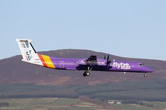 Flybe Dash8 Q400 G-PRPJ at Isle of Man EGNS 08/11/19 (IOM Aviation Photography) Tags: flybe dash8 q400 gprpj isle man egns 081119
