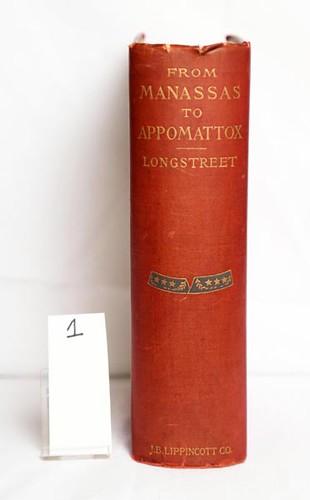 From Manassas to Appomattox ($308.00)