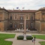 10а Аманатти Палаццо Питти Задний фасад  1560
