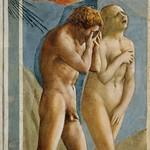 26d Мазаччо Изгнание из рая 1427 Капелла Бранкаччи