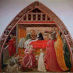 22 Паоло Учелло Рождество Богородицы. Собор С-Стефано. Прато, 1435
