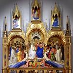 18 Лоренцо Монако. Коронация Марии, 1414. Уффици