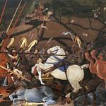 24а Паоло Учелло Битва при Сан-Романо 1456-60 Уффици
