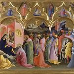 19 Лоренцо Монако Поклонение волхвов 1422. Уффици
