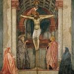 27 Мазаччо Троица 1427 С-Мария Новелла Флоренция