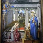 30 Филиппо Липпи  Благовещение 1443-45 Мюнх Пинакотека