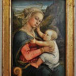 31 Филиппо Липпи Мадонна с младенцем, 1459. Мюнхенская Пинакотека