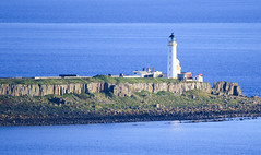 Pladda Lighthouse (Dave Russell (1.5 million views thanks)) Tags: pladda light house lighthouse building isle island clyde firth water sea ocean marine maritime rock navigation tower beacon outdoor canon eos eos7d 7d photo photograph photography