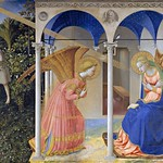 35 Фра Анджелико, Благовещение, 1426. Прадо