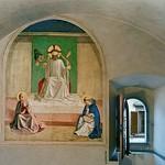 39а Фра Беато Анжелико. Страсти Христа. Фреска в келье м-ря Сан-Марко, 1438-45