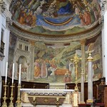 34a Филиппо Липпи. Центральная абсида собора Сполетто