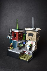 City Blocks (WG Productions) Tags: lego cyber punk cyberpunk moc vignweek contest rebellug scene