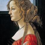 48 Боттичелли. Симонетта Веспуччи, ок. 1480 Берлинская галерея
