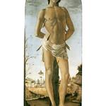 45 Боттичелли Святой Себастьян, 1473