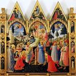 43 Фра Беато Анжелико. Снятие с креста. Алтарь Монастырь с-Марко, 1437-40. Флоренция