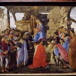 47 Ботичелли поклонение ворлхвов 1475. Уффици