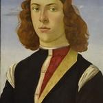 46а Ботичелли Портрет молодого человека 1475-80 Лувр