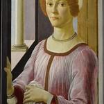 44 Сандро Ботичелли Женский портрет 1470-75 Музей Виктории и Альберта Лондон