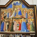 40 Фра Беато Анжелико. Коронование Марии 1435-36. Лувр
