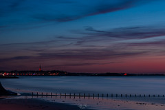 Twilight on Saint-Malo (Gilles B. Photographe) Tags: horizon france nature reflection city darkness brittany noperson sea summer beach ocean st outdoors atmosphere medieval building ancient night malo tourism waterfront sunset saintmalo bretagne european europe travel outdoor saint evening afterglow dusk town famous blue atlantic scenery landmark french tower landscape weather water light dawn coast cloud sky
