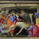 53 Ботичелли Снятие с креста 1490-95 Мюнхенская Пинакотека
