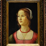 59 Доменико Гирлондайо Портрет молодой женщины 1490 Лиссабонский музей