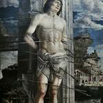 74 Мантенья. Святой Себастьян 1480. Лувр
