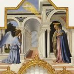 67 П. дела Франческа. Благовещение. Алтарь Антония Падуанского, 1467-69. Перуджа