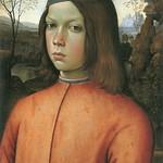93 Пинтуриккьо. Портрет мальчика 1500 Дрезденская галерея