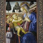 98b Андреа Вероккио Богородица с двумя ангелами 1467-69