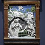 97 Лука и Андреа дела Роббиа Поклонение пастухов 1460-70