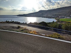 the view from the road (panoskaralis) Tags: view road roadtrip beach coast coastline sea seascape seaview skyclouds sky skyview aegean aegeansea autumn lesvos lesvosisland mytilene greece greek hellas hellenic outdoor landscape xiaomiredminote7 xiaomi