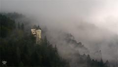 Nebelhorn (bzphotographie) Tags: nebel fog austria burg ruine mountains berg alpen alps festung