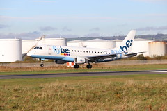 Flybe G-FBJJ BHD 02/11/19 (ethana23) Tags: planes planespotting aviation avgeek aircraft aeroplane airplane flybe embraer e175 175