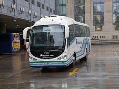 Ulsterbus Scania K360IB4 Irizar i6 SFZ6142 142, in Ulsterbus Tours livery, operating Citylink service 923 to Belfast departing Edinburgh Bus Station on 7 November 2019. (Robin Dickson 1) Tags: busesedinburgh ulsterbus scaniak360ib4 irizari6 ulsterbustours citylink sfz6142
