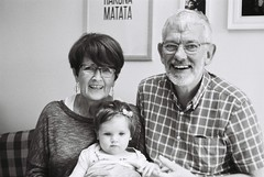 Mum, Dad and Matilda (Mark Carmody) Tags: film filmisnotdead filmphotography filmisalive ishootfilm canon canona1 kosmo foto kosmofoto 100 dublin mayo