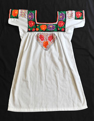 Maya Blouse Yucatan Campeche Mexico Textiles (Teyacapan) Tags: blusa blouses mexican campeche maya embroidered clothing ropa textiles